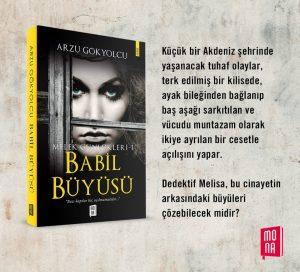 mona 300x272 - Melek Günlükleri 1 Babil Büyüsü roman hakkında