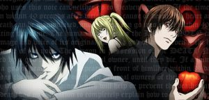 Death Note- Vampire avcısı D Harika animeler.