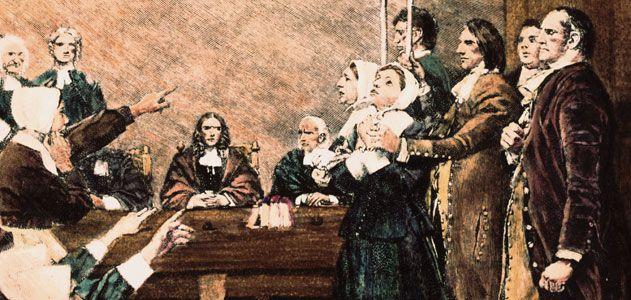 salem cadı - Cadılık tarihi ve cadılar hakkında bilgiler 4. Cadı Duruşmaları