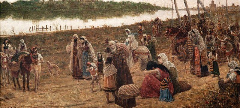 babil 800x360 - Yahudilerin Yetmiş yıllık Babil sürgünü. Mezmur /137