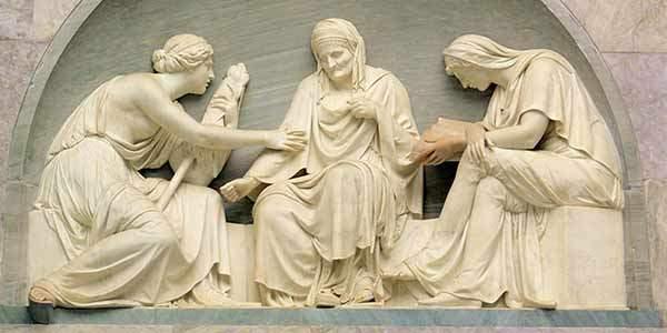 antik yunanda kader inanisi - Antik Yunan-Kader Tanrıçası 3 kız kardeş. Kaderin ağları