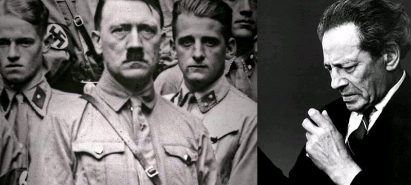 adolf hitler ve wolf messing 800x360 - Wolf Messing Stalin ve Hitleri etkileyen telepat.