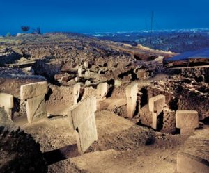 The first temple, Gobeklitepe.
